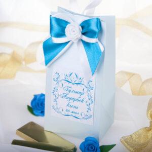 Бонбоньерки пакетики с цветком