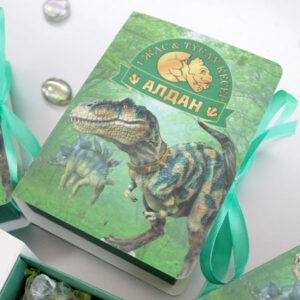 Бонбоньерки с динозаврами