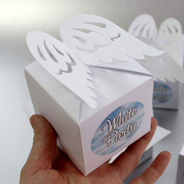 Бонбоньерки крылья ангела